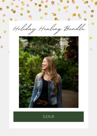 Holiday Healing Bundle _ Gold